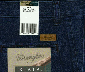 ����� ������� Wrangler� Riata� 91DE Dark Denim